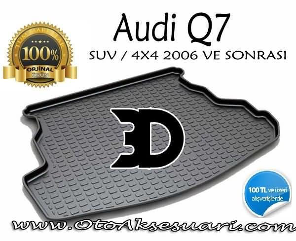 Audi Q7 Bagaj Havuzu