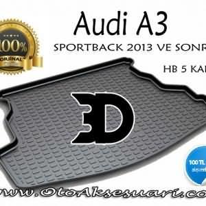 Audi A3 HB Sportback Bagaj Havuzu