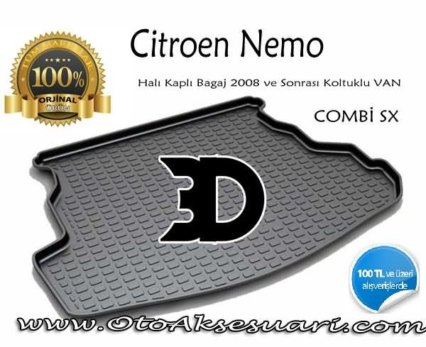 Citroen Nemo Bagaj Paspası