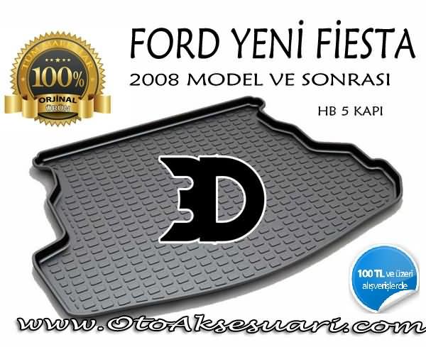 Ford Fiesta Bagaj Havuzu