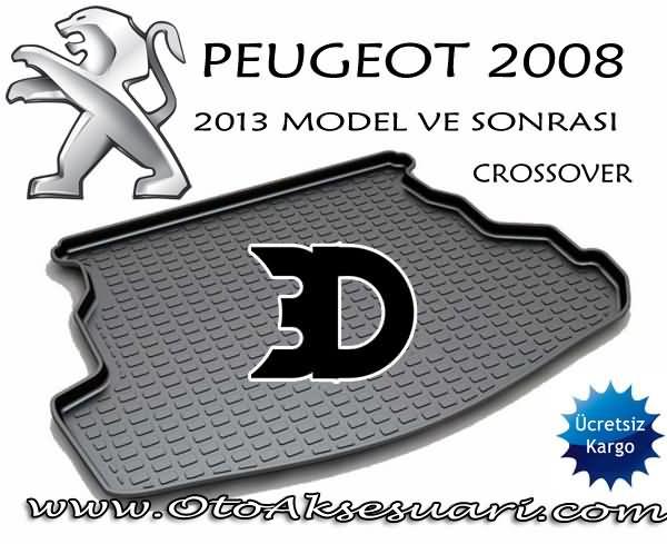 Peugeot 2008 Bagaj Paspası