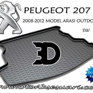 Peugeot 207 Bagaj Havuzu