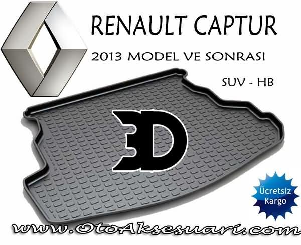 Renault Captur Bagaj