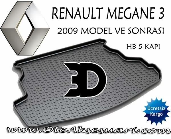 Renault Megane 3 Bagaj
