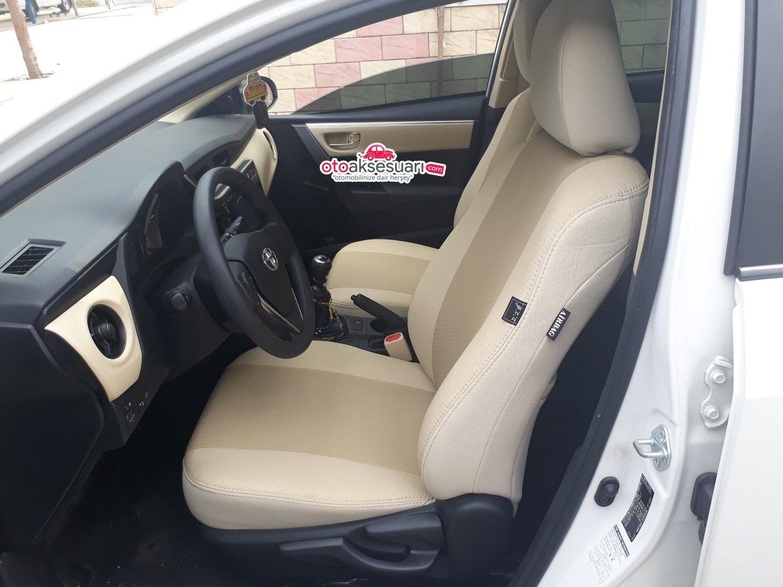 Toyota Corolla Bej Koltuk Kilifi Oto Aksesuar