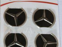 Mercedes Logo Arma Sticker